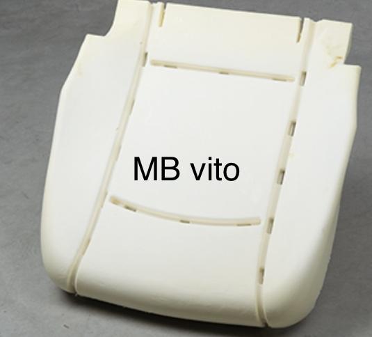 Mercedes Vito zitschuim